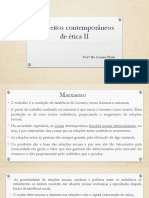 Conceitos Contemporâneos de Ética II