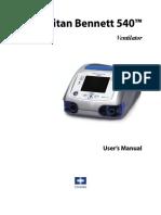 PB 540 Ventilator User Manual.pdf