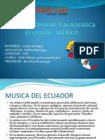 Musica Popular y Academica - Mexico - Ecuador - Carlos Robles