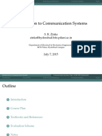 0 Introduction to Communication Systems