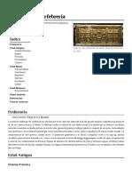 Historia de La Orfebreria