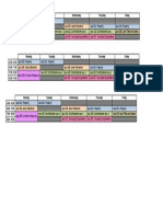 Print Sched