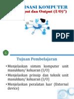 Unit Input Dan Output