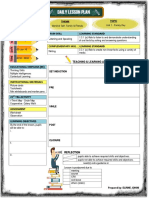 Lesson Plan Template Year 5