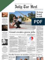 The Daily Tar Heel for September 8, 2010