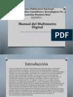 Manual Del Multímetro Digital-Equipo1-UP