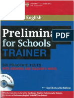 PET for Schools Trainer