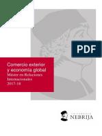 Comercio Exterior y Economia Global