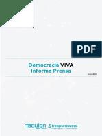 Democracia Viva - Informe Para La Prensa