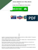 Descargar Sistemas Digitales Tocci 10ma Edicion
