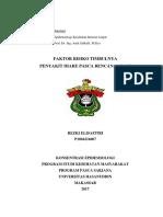p1804216007_rezki Elisafitri_faktor Risiko Timbulnya Diare Pasca Bencana