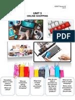 e.) Unit 5 Online Shopping