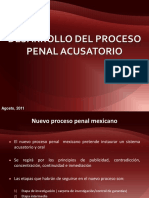 Desarrollo Del Proceso Penal Acusatorio[1]