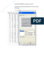 Bland and Altman Plots in Excel