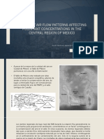 A Study of Air Flow Patterns Affecting Pollutant