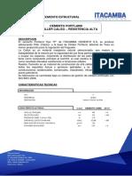 Ficha Tecnica Cemento. if-40