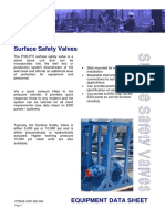 PTIMS-OPS-DS-006 - Surface Safety Valves Rev 3