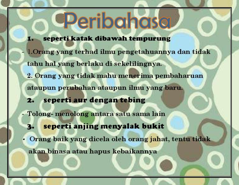 Peribahasa Thn 4 Docx