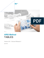 ARIS Method Tables