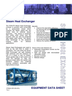 PTIMS-OPS-DS-007a - Steam Heat Exchangers Rev 3