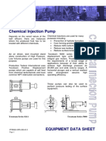 PTIMS-OPS-DS-013 - Chemical Injection Pump Rev 3