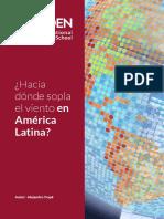 Hacia Donde Sopla El Viento en America Latina