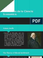 Precursores de La Ciencia Economica-Expo