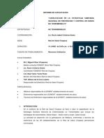 Informe Final de Capacitación