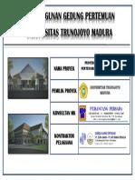 Papan Nama Proyek Gedung Pertemuan