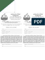 Ignited Six Flags Trip 2010 Permission Form
