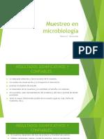 Muestreo en Microbiología