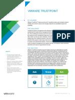 Vmware Trustpoint Solution Overview
