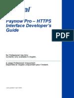 PayflowPro HTTPS Interface Guide