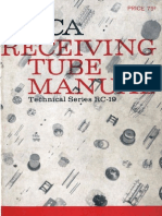 RCA RC19 Receiving Tube Manual 1959