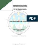 Servicios en Macadamia Integrifolia