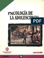 Psicologia de La Adolescencia  de Aguirre Baztan Angel