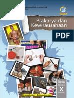 Buku Siswa Kelas 10 Prakarya Dan Kewirausahaan SMT 1