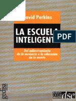 David Perkins La Escuela Inteligente