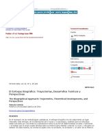 El Enfoque Biográfico_ Trayectorias, Desarrollos Teóricos y Perspectivas