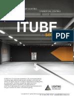 ITube Series LED Commercial Lighting in Australia by Lighting Technology