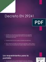 Decreto en 29241