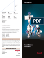 Control Valve Products Catalog