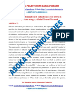 Efficiency Optimization of Induction Motor Drive in Steady State Using Artificial Neural Network