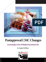 Postapproval CMC Changes