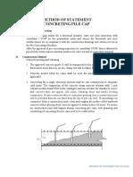 Method Statement of Concreting Pile Cap Rev02