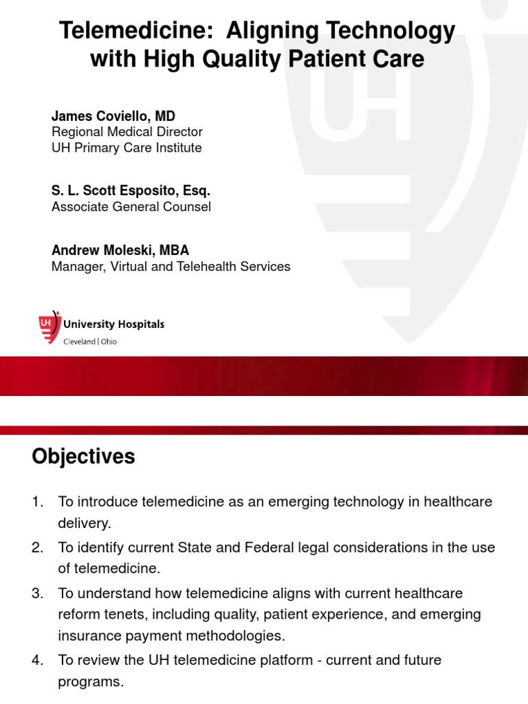 Tele Medicine | Telemedicine | Medicare (United States)