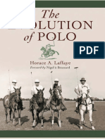 Horace a. Laffaye - The Evolution of Polo - 2009