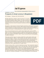 Prospects of Virtual Currency in Bangladesh