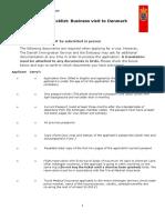 Checklist Business Visa (1)