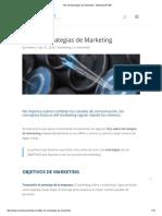 Tips de Estrategias de Marketing - Marketing PYME